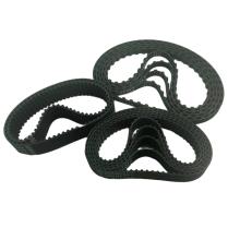Rubber endless mechanical transmission belts