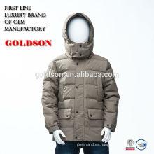 2017 Nuevo estilo europeo del invierno del abrigo de la capa de la chaqueta del pato de los cabritos europeos para el bebé