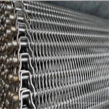 Нержавеющая сталь сбалансированная конвейерная лента ячеистой сети