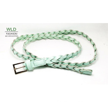 National Young Lady ′s Simple PU Belt Ky6326