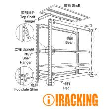 Almacenamiento industrial en estanterías (IRC)