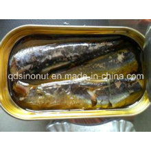 125g Oval Can Canned Sardine in Tomato Sauce with Chilli