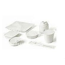 Máquina de embalagem ultra-sônica para copos, tigelas, bandejas e bolhas