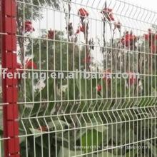с покрытием из ПВХ Голландия сетки забор(завод)