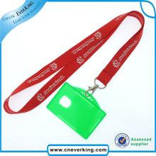 Lanière de promotion de carte d'identification de polyester