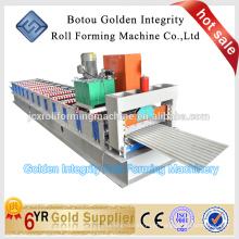 Folha de cobertura de alumínio Roll formando máquinas