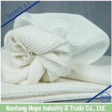 Paño de cocina 100% algodón hecho por puro algodón blanco