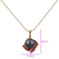 30954 Pendentif en nacre avec motif en or de conception simple de couleur Xuping pour femmes