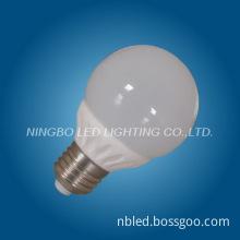 LED ceramic Bulb milky galss for Residential lighting LED bulb G45