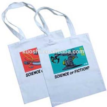 Custom Printed White Canvas Tote Bags