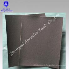 Umweltfreundliches Sandpapier für den Handgebrauch, Granat, Kraftpapier, P46-240