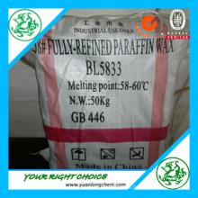 Bulk Paraffin Wax 58-60