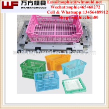 Plastic crates mould for fruits/molde de cajon de la fruta