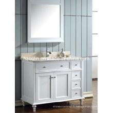 Meuble-lavabo de salle de bain en marbre (BA-1113)