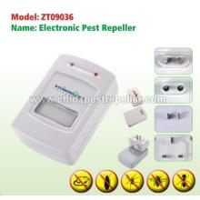 Electronic Microchip Processor Technology Pest Repeller With Light