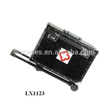 cute aluminum medical case with wheels manufacturer