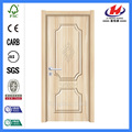 JHK-P07 decorative  2 panels mdf pvc profile door