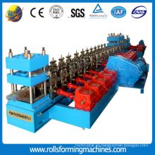 Máquina formadora de rollos de carril de acero