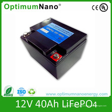 Batería de arranque LiFePO4 Batería 12V 40ah