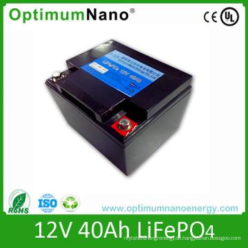 LiFePO4 Batterie Pack 12V 40ah Starterbatterie