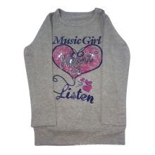 Bedrucktes Mädchen T-Shirt in Kinderkleidung (LTG001)