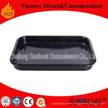 Sunboat Kitchenware/ Kitchen Appliance Bakeware Enamel Rectangulare Tray Enamel Dish/Tray