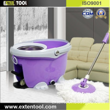 Stainless Steel Twist Spin Mop Handle with Spin Bucket