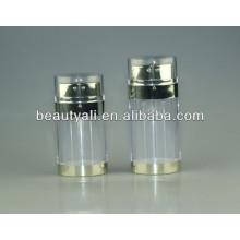 20ml 30ml frasco airless da bomba dupla de 60ml, bomba dobro, frasco cosmético