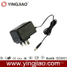 15W AC DC Power Adapter with UL