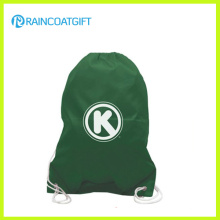Billige Custom Logo Printed Polyester Kordelzug Fußball Rucksack Tasche