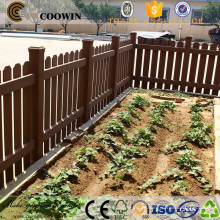 matériaux en bois en plein air wpc pas cher panneaux de clôture préfabriqués