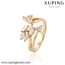 14019- Xuping Jewelry Fashion18K Gold Plated Rings