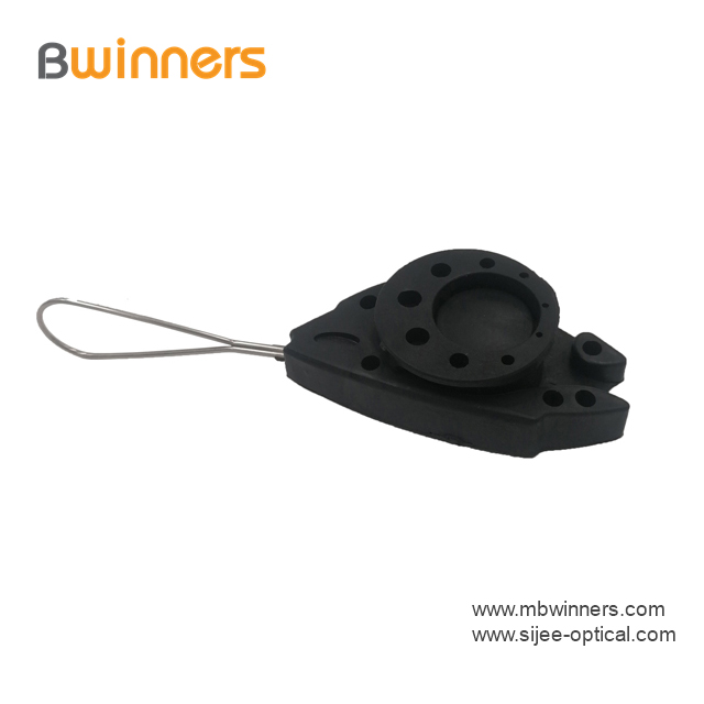 Ftth Drop Wire Cable Fish Anchor Clamp