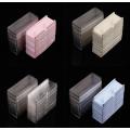 Caja de bandeja de pestañas de plástico blister de alta calidad