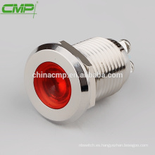 CMP 6mm ~ 30mm metal lámpara de señal resistente al agua roscada luz indicadora
