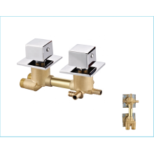 ACS certification forged bath faucets durable mixer cold hot copper bathroom tap