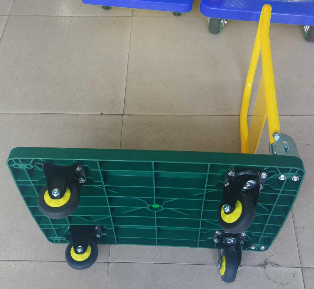300kg Folding Trolley Platform Hand Truck Dolly Bottom