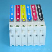 Cartouche d'encre compatible 6 couleurs pour Epson D700