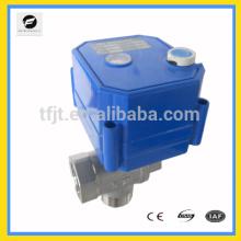 manija de la válvula de bola eléctrica ajustable CWX-25S DV3-6V DC12V AC / DC9-24 AC220V AC85-265V Protección del medio ambiente y agua de drenaje