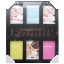 6 abertura 4 por 6 moldura clássica família Collage