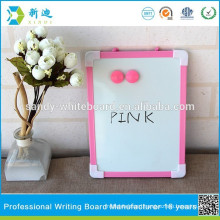 New kids magnetic pink frame drawing board christmas whiteboard