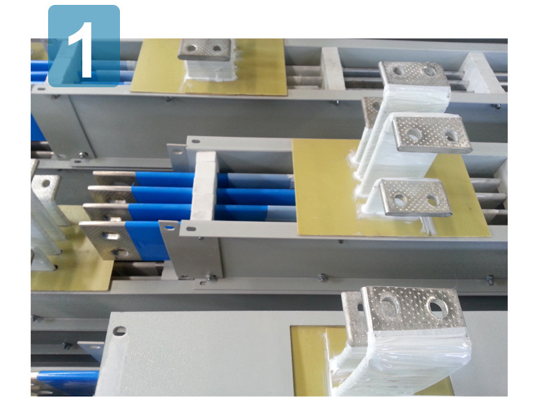 Busbar trunking for electrical distribution