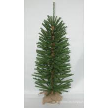 Jute Wrap Base Künstlicher Weihnachtsbaum mit String Licht Multi Farbe LED Dekoration (AT2029)