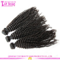 Factory high quality 4c afro kinky curly human hair weave wholesale price mongolian kinky curly hair