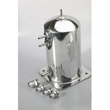 1.5L Aluminum fuel surge tanks with barb fittings
