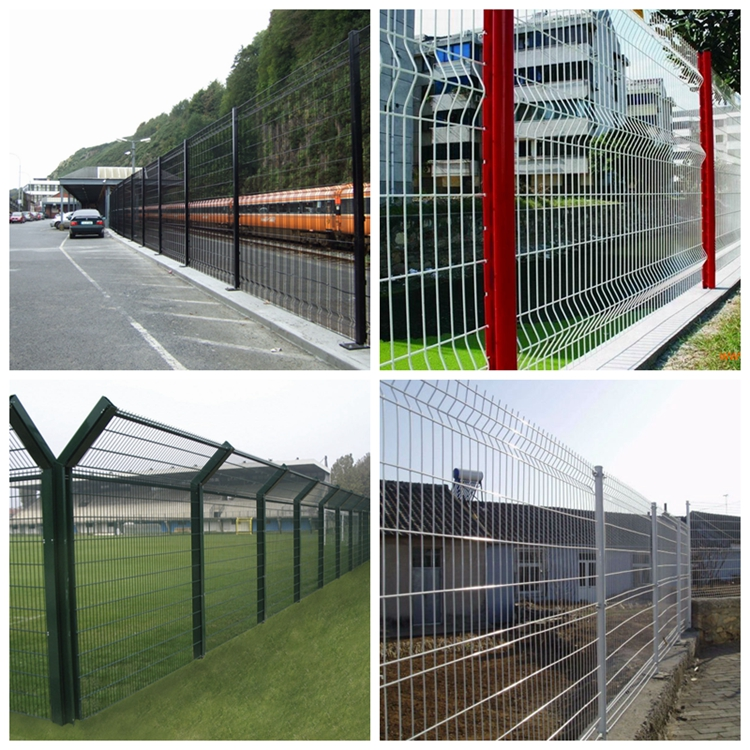 tiangle wire mesh fence