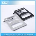 Aluminum luxury laptop stand holder for apple tablet, notebook computer stand holder