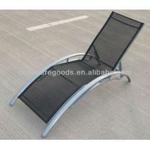 Aluminium textoline sun lounger