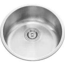 L5302 De acero inoxidable ronda solo fregadero Bowl