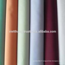 """65% polyester + 35% coton peigné TISSU TISSÉ / teint - couleur claire / uni / largeur: 45 """""""
